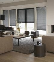 Pomocí plissé můžete snadno regulovat množství a intenzitu světla v interiéru.