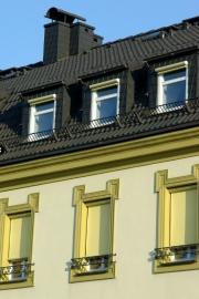 Možnost tónovat předokenní roletu do různých barev ocení nejen architekti.
