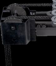 Lanová odváděcí kladka pro pohonné lano ležící vně