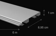 Záclonová tyč Erna- rozměry