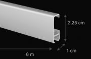 Záclonová tyč Gerika - rozměry
