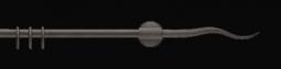 Záclonová tyč 2231, Ø 16