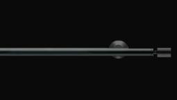 Záclonová tyč, 134 Ø 20