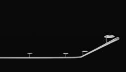 Záclonová tyč 407