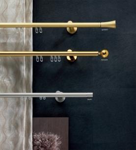 Záclonové tyče Elegant Brass